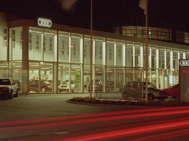 Audi Showroom Verleden