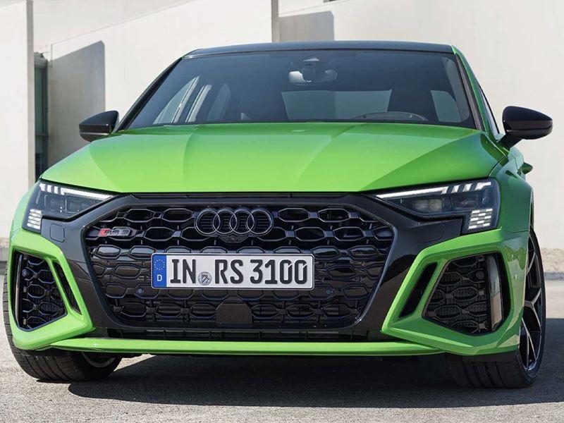 Audi Rs 3 2022 Limousine Groen