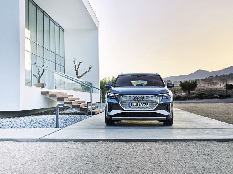 Audi Q4 e-tron voor