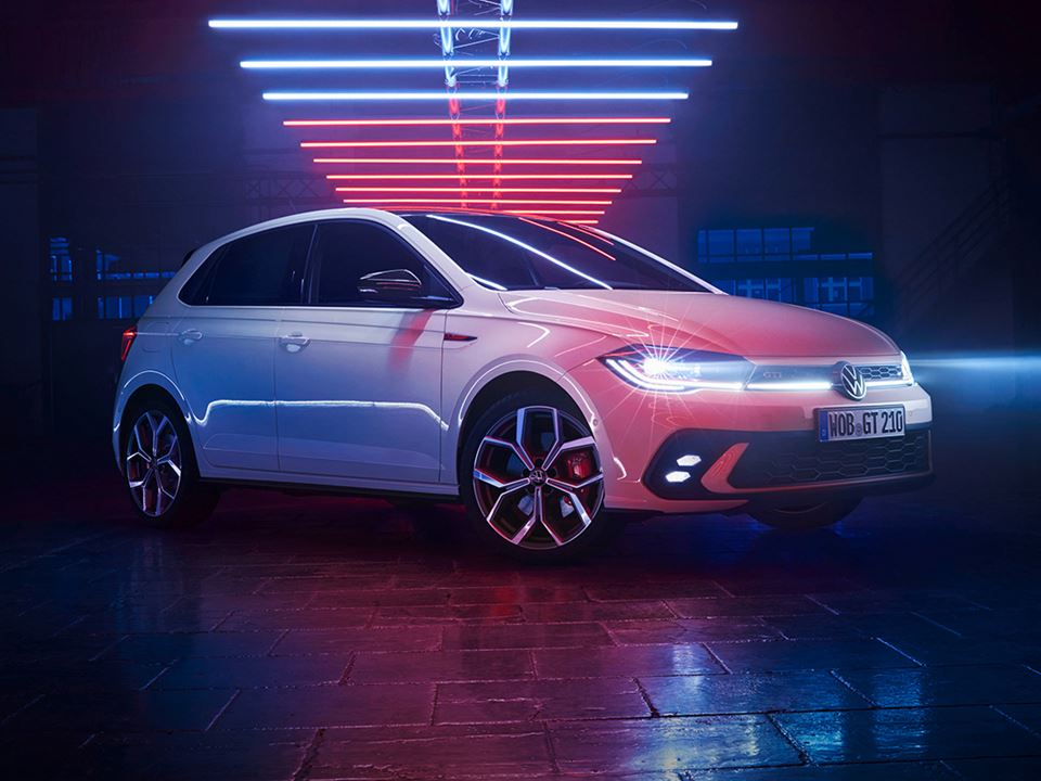 Polo GTI World Premiere Infeed Post Exterior Beauty Generic Intender CLEAN