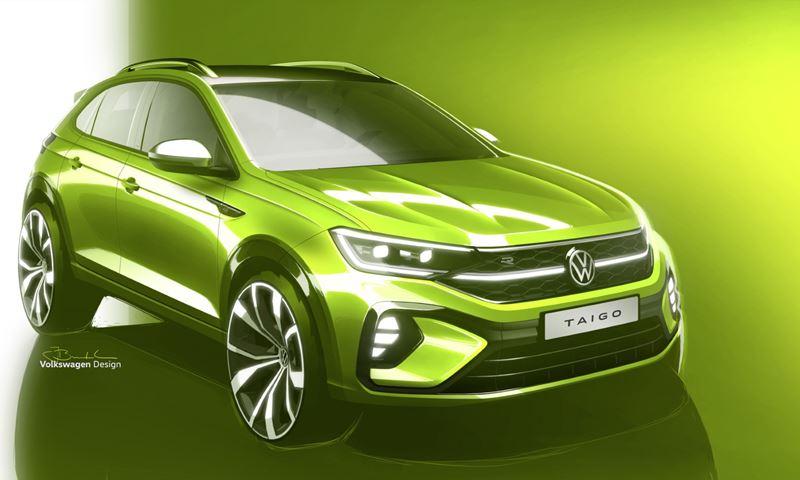 VW Taigo Front
