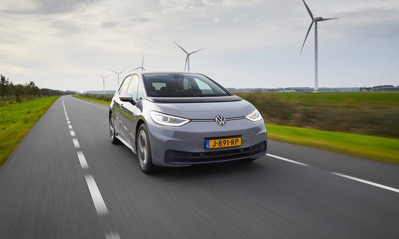 Volkswagen Id3 Grijs Windmolens