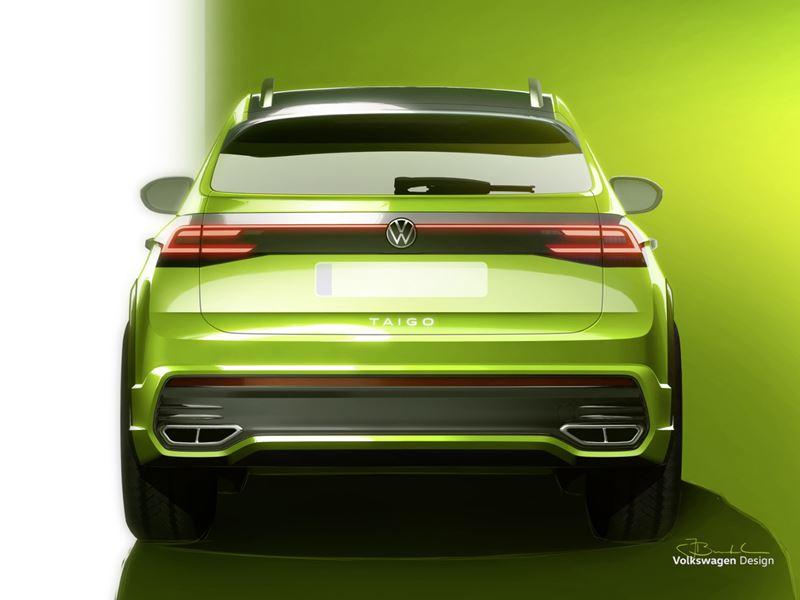 VW Taigo Back