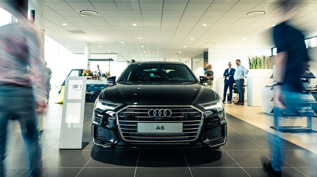 Audi A6 Limousine 2018 Voorkant Sfeer (1)