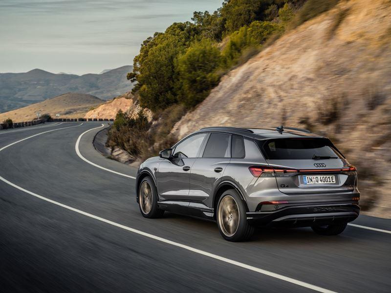 Audi Q4 e-tron rear