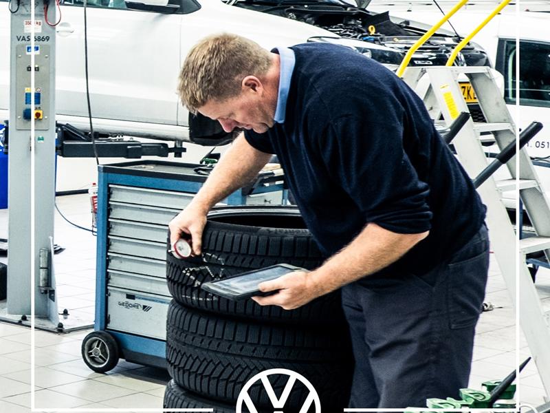 Volkswagen Onderhoud Banden Buitenpost