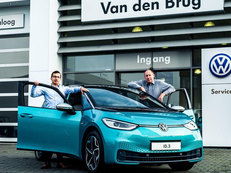 Volkswagen Id3 Buitenpost
