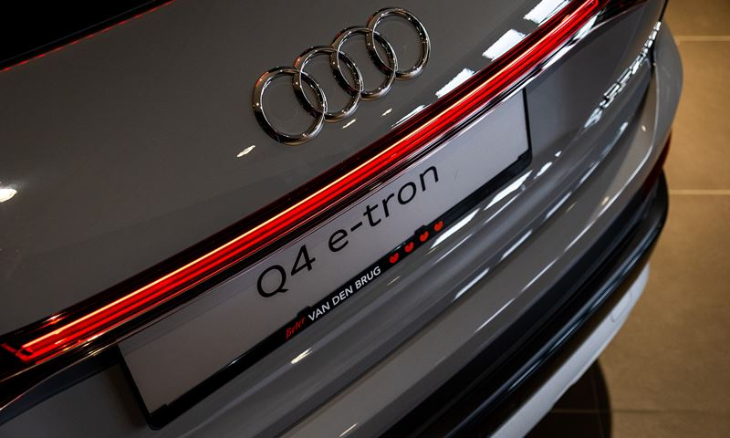 Audi Q4 E Tron Achterzijde