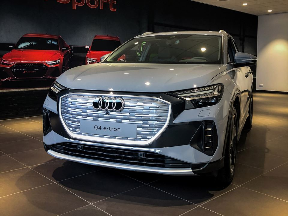 Audi Q4 E Tron Voorzijde