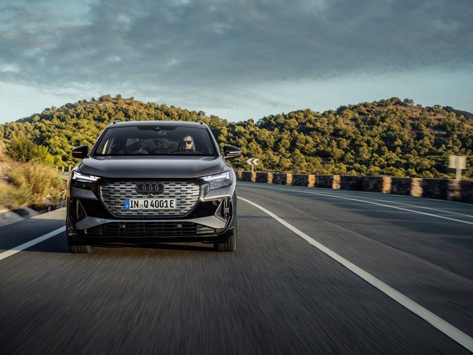 Audi Q4 e-tron front 2