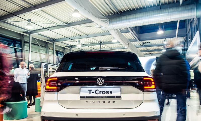Volkswagen T Cross Achterkant