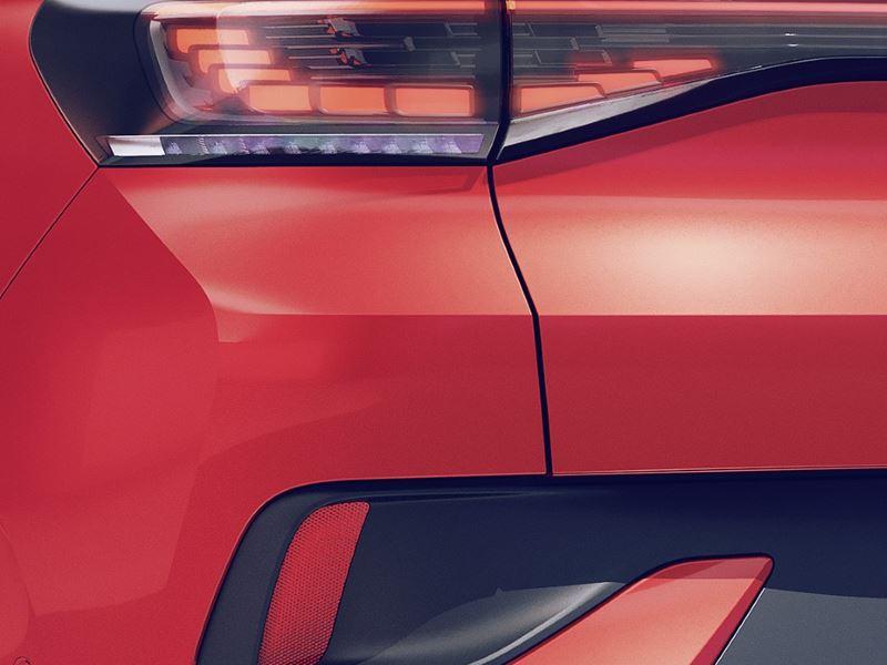 Volkswagen ID.4 GTX Details Achterlicht