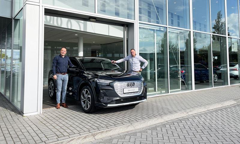 Audi Q4 E Tron Sportback Van Den Brug